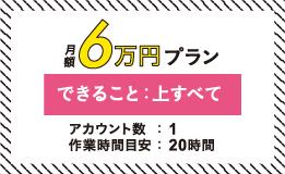 月額6万円プラン