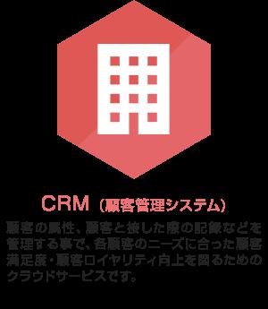 CRM(顧客管理システム)